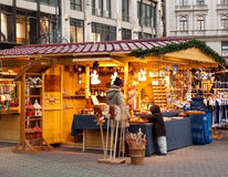 Christmas market in Budapest. Traditional Christmas market in Budapest, Hungary Royalty Free Stock Photography