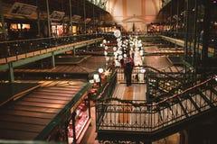 Christmas market in Budapest, Hungary royalty free stock image