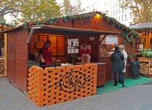Christmas market Budapest Stock Images