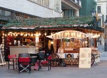 Christmas market Budapest Royalty Free Stock Photography