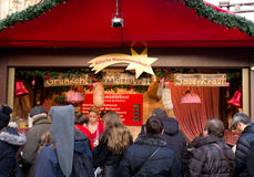 Christmas market in cologne, Germany Royalty Free Stock Images