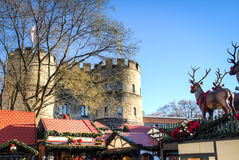 The Christmas market in Cologne, Germany Stock Photography