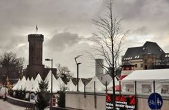 Christmas market in cologne, Germany Royalty Free Stock Image