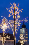 Christmas market decoration Stock Images