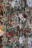 Christmas market details Royalty Free Stock Images