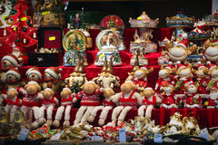 Christmas market details Royalty Free Stock Photos