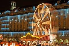 Christmas Market in Dresden stock images