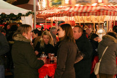 Christmas Market in Germany Royalty Free Stock Photography