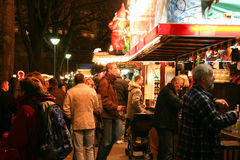 Christmas Market in Germany Royalty Free Stock Images