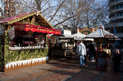 Christmas market in Germany, Pforzheim Stock Photos