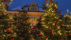 Christmas Market Hellbrunn Palace, Salzburg, Austria. Christmas Market, Christkindlmarkt Hellbrunn Palace, Hellbrunn Advent Magic, Salzburg, Austria, Europe stock video footage