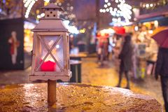 Free Christmas Market In Salzburg, Decoration, Lights And City Flair Royalty Free Stock Photo - 158880925