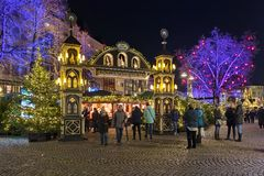 Free Christmas Market In The Old Town Of Cologne, Germany Stock Photography - 163410982