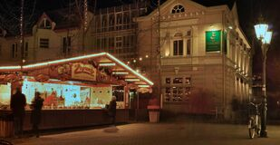 Christmas market in Moers Stock Photos