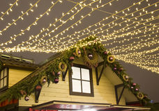 Christmas market in Moscow Royalty Free Stock Photography
