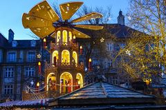 Christmas Market in Munich, Bavaria. Germany, Europe Royalty Free Stock Image