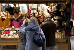 Christmas market in Munich, Germany Royalty Free Stock Photos