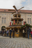 Christmas market in Munich. Germany, 2 December 2012 Stock Images