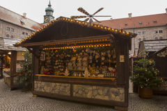 Christmas market in Munich. Germany, 2 December 2012 Stock Image