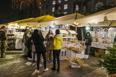 Christmas market, november 2016 Royalty Free Stock Photography