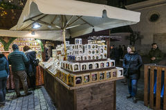 Christmas market, november 2016 Stock Photos
