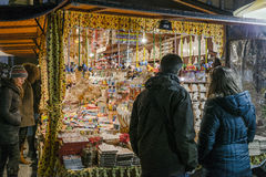 Christmas market, november 2016 royalty free stock photos