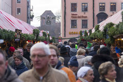 Christmas market in Nuremberg Stock Image