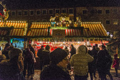 Christmas market in Nuremberg Royalty Free Stock Photography