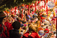 Christmas market in Nuremberg Royalty Free Stock Photo