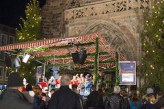 Christmas market in Nuremberg Royalty Free Stock Images