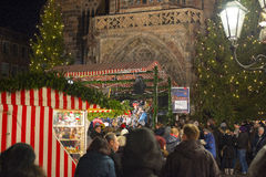 Christmas market in Nuremberg Stock Photos
