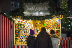 Christmas market in Nuremberg Stock Photography