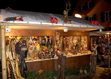 Christmas market in Offenburg, Germany Stock Image