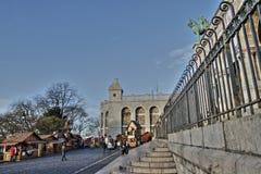 Christmas market , Paris Stock Image