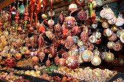 Christmas Market products, Vienna Stock Image