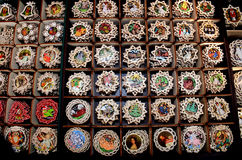 Christmas Market products, Vienna Royalty Free Stock Photos