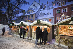 Christmas market in Riga Royalty Free Stock Photography