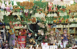 Christmas market in Rome Royalty Free Stock Photo