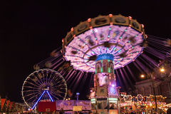 Christmas market in Rostock Royalty Free Stock Images