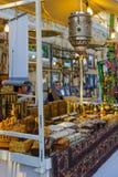 Christmas market scene, Nazareth Royalty Free Stock Image
