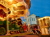 The Christmas Market in Senate Square Royalty Free Stock Image