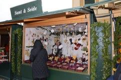 Christmas Market stall, Vienna Royalty Free Stock Photo