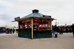Christmas Market stalls, Vienna Stock Photos
