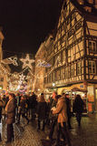 Christmas market stock photos