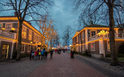 Christmas market in Sweden Royalty Free Stock Image