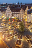 Christmas market in Tallinn, Estonia Stock Photos