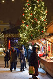 Christmas market in Tallinn. Stock Photos