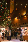 Christmas market in Tallinn Royalty Free Stock Images