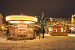 Christmas market in Tallinn, Estonia Stock Photography