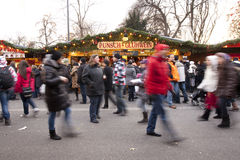 Christmas Market Vienna Royalty Free Stock Photo